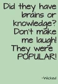 Brains or knowledge?