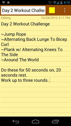 Day 8 Workout Challenge...do Day 2 Workout for today and challenge yourself even more!