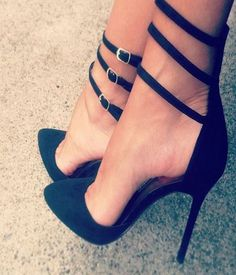 Gorgeous #Black #Heels