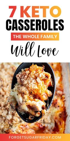 YUMMY Keto Chicken Casseroles for the family! - Your whole family will love these yummy keto casserole recipes! Perfect for your next keto dinner o - Low Carb Chicken Recipes, Healthy Low Carb Recipes, Low Carb Dinner Recipes, Ketogenic Recipes, Keto Dinner, Ketogenic Diet, Easy Recipes, Diet Recipes, Keto Chicken Casserole