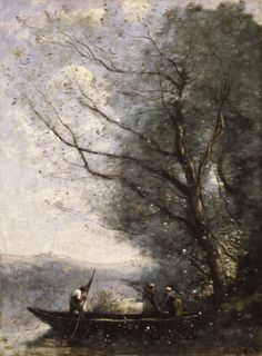 Jean Baptiste Camille Corot - one of my very favorite artists - I have one of his prints :)