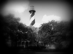 The originial St. Augustine Lighthouse burned. They rebuilt it in 1874 and it has been and active Lighthouse ever since.