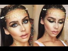 Watch and Download Golden Goddess Halloween Makeup Tutorial | Lobangpipet.Com