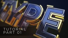 01 - TUTORIAL TYPE TEXT - SPLINE LINES - CINEMA 4D AND AFTER EFFECTS CC1/2