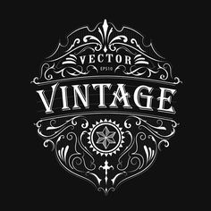 Find Antique Label Typography Vintage Frame Design stock images in HD and millions of other royalty-free stock photos, illustrations and vectors in the Shutterstock collection. Logos Vintage, Vintage Logo Design, Vintage Type, Vintage Typography, Best Logo Design, Vintage Labels, Vintage Designs, Vintage Posters, Images Vintage