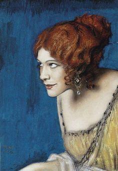 Tilla Durieux as Circe, Franz von Stuck