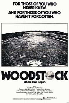 """soundsof71: """"Woodstock, given an Academy Award for Best Documentary on April 15, 1971. """""""