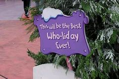 """Maybe one that says """"Happy Who-lidays!"""""""