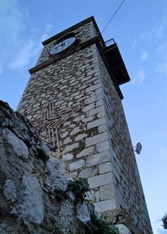 Tower clock, Naflion town, Argolida, Peloponnese, Greece Countryside, Medieval, Greece, Tower Clock, Building, Towers, Travel, Clocks, Meet