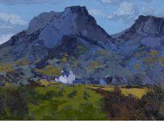 """Gwilym Pritchard (British, b.1931) """"Y Moelwyn Mawr"""","""