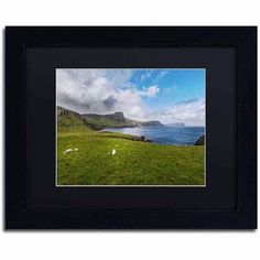 Trademark Fine Art A Place with No Name Canvas Art by Philippe Sainte-Laudy, Black Matte, Black Frame, Size: 16 x 20