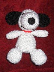 Crochet pattern Snoopy