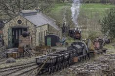 Steam Trains and Steampunk Oddities