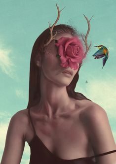 A new selection of the beautiful surreal and conceptual illustrations of the Turkish artist and graphic designer Aykut Aydogdu, based in Istanbul. This talente Surreal Artwork, Surrealism Painting, Artist Painting, Gcse Art, Salvador Dali, Oeuvre D'art, Digital Illustration, Illustration Pictures, Les Oeuvres