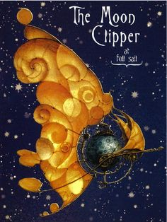 William Joyce's illustrations for Man in the Moon...they look gorgeous....