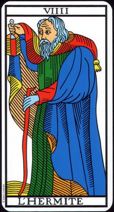The Hermit - Tarot de Marseille (Camoin-Jodorowsky)