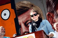 #StanaKatic talks about ATP at CicLAvia (2014)