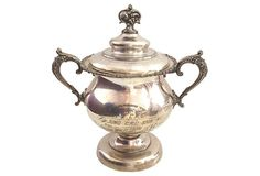 Sterling Dog Show Trophy, 1906 on OneKingsLane.com