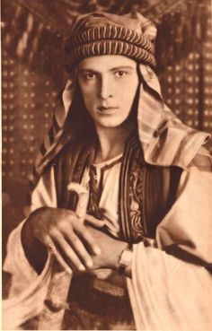 Rudolph Valentino in 'The Sheik' 1922