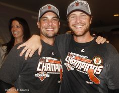 #SFGiants Win The West – Clubhouse Celebration « SF Giants Photos