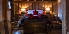 One of the comfortable #bedrooms @Chalet Névé in #Courchevel:  http://clni.st/1nFozvV  www.lecollectionist.com