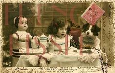 Time for Tea by Artemisia on Etsy