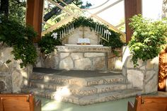 i was married here... weyfarer's chapel, rancho palos verdes, california designed by lloyd wright