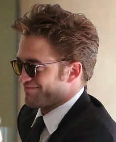 crop/close-up of Rob arrivin' at the HFPA Grants Banquet 14Aug14