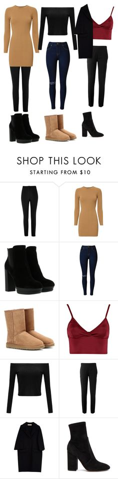 """""""Fall LookBook 2k16"""" by shelbystepler ❤ liked on Polyvore featuring River Island, A.L.C., Hogan, UGG Australia, Lipsy, Chloé, Marni and Valentino"""