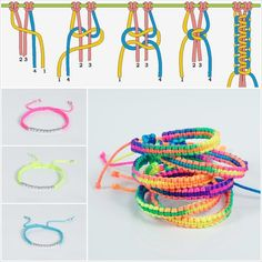 Macrame bracelet for beginners