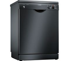 Buy BOSCH SMS25AB00G Full-size Dishwasher - Black | Free Delivery | Currys Best Dishwasher, Black Dishwasher, Norton 360, Retail Websites, Domestic Appliances, Energy Consumption, Childproofing, Water Supply