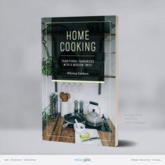 Cookbook eBook Cover Design Template Bundle eBook Kindle   Etsy Cookbook Cover Design, Recipe Book Design, Ebook Cover Design, Websites Like Etsy, Photoshop, Simple Rules, Creative Outlet, Creative Industries, Website Template