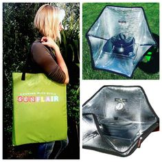The Sunflair Solar Oven is a nifty product I've tried in a long while. This portable oven is ideal for anyone looking to build up their emergency gear.