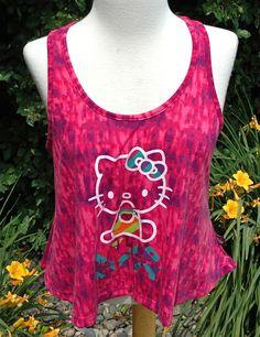 Juniors  Hello Kitty Purple Tank Sz S $29.50 - NWT #HelloKitty #TankCami #Casual