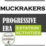 Progressive Era and Gilded Age: Muckraker Station Activities
