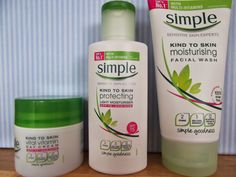 face cream and simple products Moisturizer With Spf, Moisturiser, Skins Uk, Facial Wash, Sensitive Skin, Blogging, Vitamins, Personal Care, Good Things