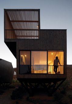 theblackworkshop:  Elqui Domos Astronomical Hotel by Rodrigo Duque Motta