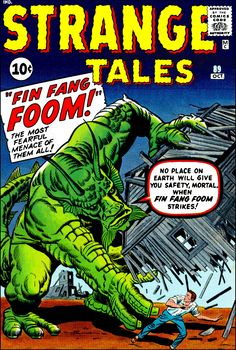 Strange Tales #89 First Appearance of Fin Fang Foom.