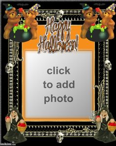 Halloween Frame Halloween Frames, Crafty Projects, Halloween Picture Frames