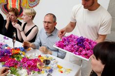At a 50th anniversary party for Dior Nails, 2013 BizBash Innovator Garin Baura created a performance-art-style centerpiece inspired by...