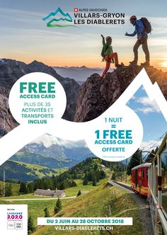 Séjournez au Chalet RoyAlp et recevrez la Free Access Card pour découvrir la région Villars et ses alentours!! goo.gl/mybtsb Lausanne, Spa, Le Havre, Mount Everest, Mountains, Nature, Movies, Movie Posters, Free