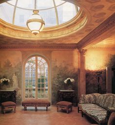 The Relished Roost: Renzo Mongiardino the Interior Designer Who Practiced The Art Of Illusion!