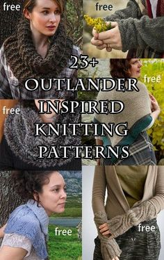 Knitting shawl patterns outlander new Ideas Outlander Knitting Patterns, Loom Knitting, Knitting Patterns Free, Free Knitting, Knitting Machine, Vintage Knitting, Shawl Patterns, Knitted Shawls, Crochet Scarves