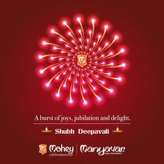 Stay Luminous. Shubh Deepawali from all of us at Mohey and Manyavar.