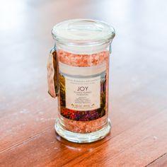 Joy Aromatic Bath Salts Apothecary Jar