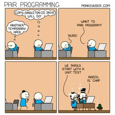 Pair programming Pair Programming, Programming Humor, Computer Technology, Computer Science, Science Memes, Machine Learning, Software Development, Linux, Engineering