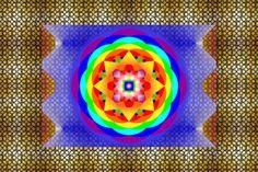Eu Zen - Mandala Chakras - Impressão em canvas