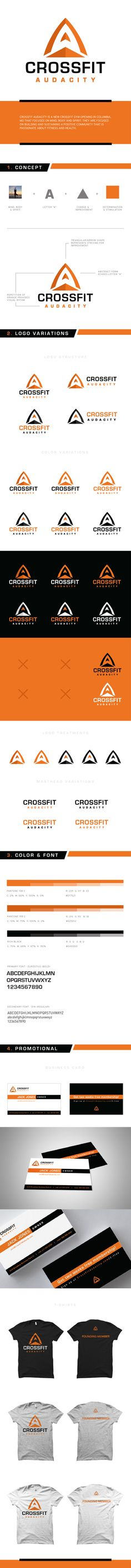 CrossFit Audacity by William Frazier, via Behance