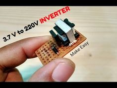 How to Make AAA (1.5V) Battery to 220V AC Inverter - YouTube