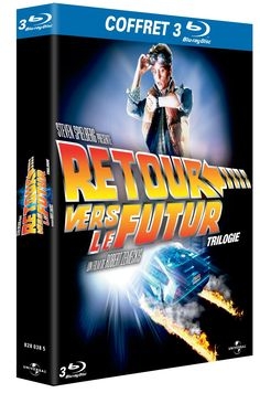 Amazon.fr - Coffret Trilogie Retour vers le futur [Blu-ray] - Michael J. Fox, Christopher Lloyd, Lea Thompson, Crispin Glover, Thomas F. Wilson, Elisabeth Shue, Mary Steenburgen, Robert Zemeckis : DVD & Blu-ray
